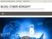 Blog: Cyber Konzept