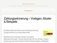 Zahlungserinnerung-Vorlage.de