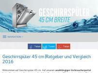 geschirrspueler-45-cm.de