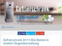 gefrierschrank-sparsam.de