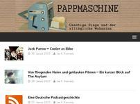 Pappmaschine