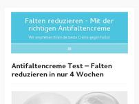 Antifaltencreme Test
