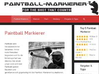 Paintball Markierer