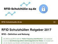 RFID Schutzhülle 24