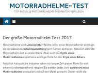 Motorradhelme-Test
