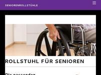 Rollstuhl für Senioren