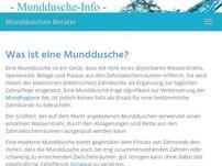 Munddusche Infoportal