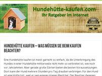 hundehütte-kaufen.com