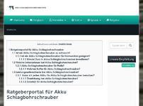 akku-schlagbohrschrauber.info