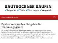 Bautrocknerkaufen.net