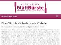 glaettbuerste.net