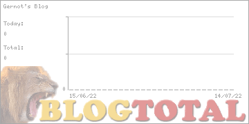 Gernot's Blog - Besucher