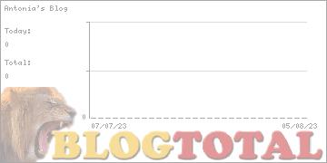 Antonia's Blog - Besucher