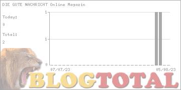DIE GUTE NACHRICHT Online Magazin - Besucher