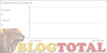 Eigenbeleg-Vorlage.de - Besucher