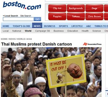 Muslime fordern Kurt Westergaards Kopf
