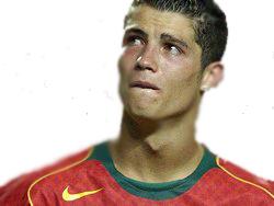 Ronaldo Tränen