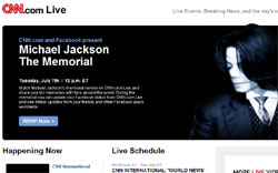 Michael Jackson Gedenkfeier TV-Live-Stream