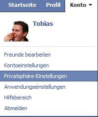 Facebook Sicherheit Konto