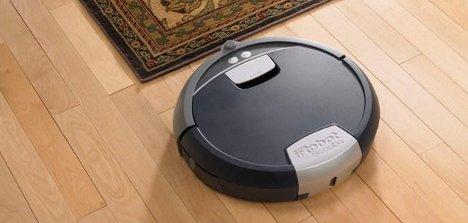 Scooba und der Teppich, ein Saugroboter ist im Vorteil
