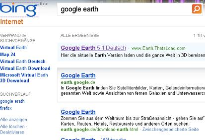 Google Earth via thatsload.com von der Antassia GmbH