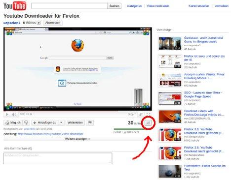 Zugriffszahlen für ein Youtube-Video ermitteln