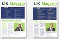 LfK-Magazin zum Thema Wirtschaftsprüfung und Steuerberatung