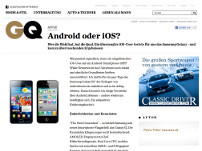 Android oder iOS