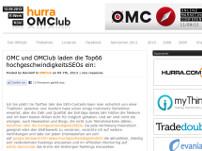 Hohe Geschwindigkeit beim OMClub-Wettbewerb?