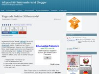Blogparade von internetblogger.de