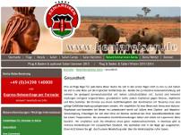 Impfungen und Malariaprophylaxe für Kenia-Reisen
