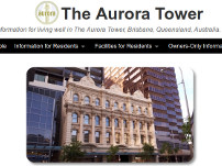 The Aurora Tower in Brisbane