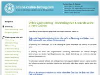Betrug bei Online-Casinos?