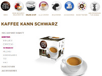 Dolce Gusto Kaffee