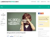 Blogparade von landschaftsfotos.info