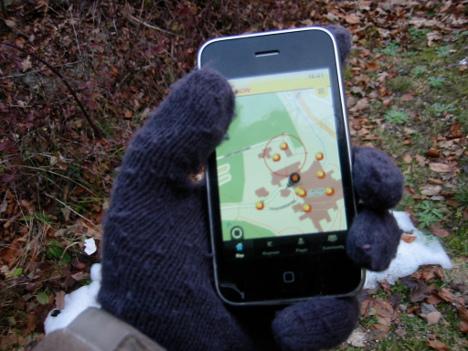 Smartphones im Winter