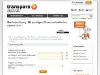 Zinsrechner von transparo.de