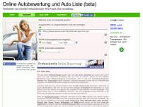 Online-Autobewertung