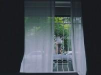 Offenes Fenster sorgt für Frischluft