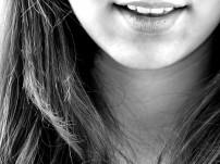 Glückliches Lachen