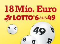 18 Mio. im Lotto-Jackpot