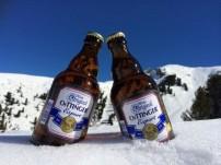 Flaschenpost: Oettinger im Schnee