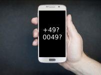 Handyvorwahl: +49 oder 0049 notwendig?
