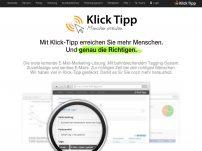 Klick-Tipp: Die Software für zielgerichtetes E-Mail-Marketing