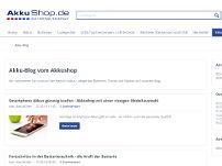 Blog von akkushop.de