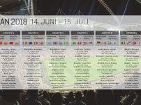 Spielplan für die WM 2018